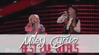 Miley Cyrus Best Live Vocals