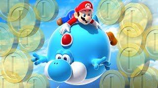 TODAS AS MOEDAS SECRETAS DO CÉU! – New Super Mario Bros U