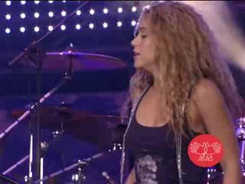 Concierto ALAS Shakira & Mercedes Sosa La Maza Video Oficial