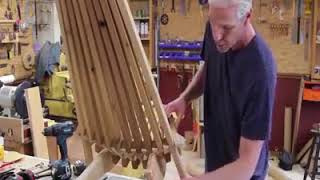How To Make A Folding Cedar Lawn Chair