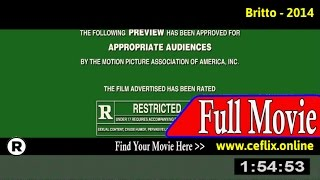 Watch: Britto (2014) Full Movie Online