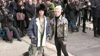 Taeyang, G Dragon 권지용,  權志龍 and more attending the Chanel Haute Couture fashion show