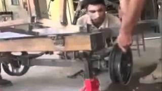 اول سيارة عراقية يدوية الصنع - (FIRST IRAQI CAR (HAND-BUILT