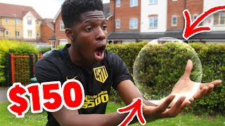 BUYING a $150 INVISIBLE FOOTBALL!! - Can YOU SEE it ?? 😱🔥