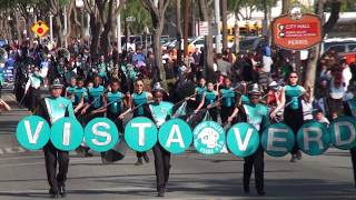 Vista Verde MS - Crosswinds March - 2017 Perris Valley Holiday Parade