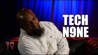 Tech N9ne Shows How Fast He Can Rap, Has Trouble Doing the Same Verse Slow (Part 3)