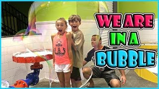 OUR BUBBLE LIFE AT WONDERWORKS   We Are The Davises