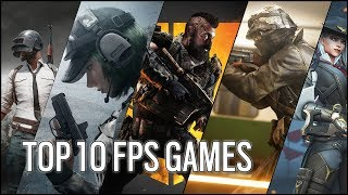Top 10 New FPS Games for PC - 2019
