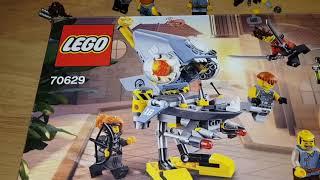 LEGO Piranha Attack 70629 Showcase | BrickWolf