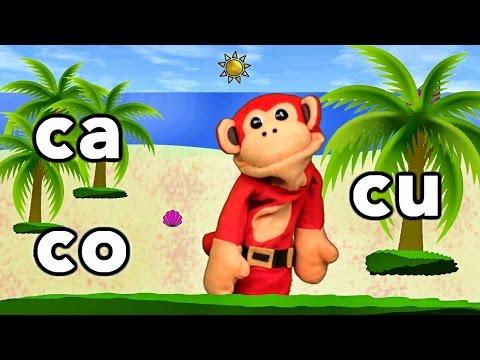 Xxx Mp4 Sílabas Ca Co Cu El Mono Sílabo Videos Infantiles Educación Para Niños 3gp Sex