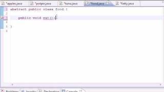 Java Programming Tutorial - 58 - Abstract and Concrete Classes