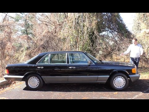 Here s a Tour of a 150 000 Mercedes S Class From 1991