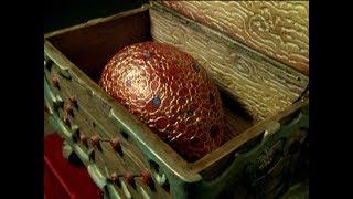 Power Rangers Mystic Force - Petrified Xander - Fire Heart Egg (Episode 10)