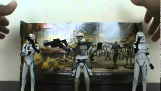 Star Wars the Clone Wars (Defend Kamino) BATTLE PACK review