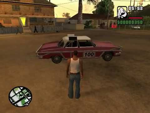 GTA San Andreas Most used cheats on pc