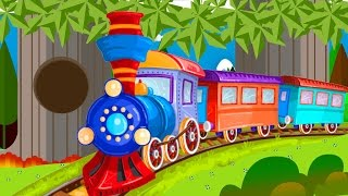 Trains for children - Train - Planting trees for kids - Trains for kids