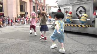 Universal's Superstar Parade at Universal Studios in Orlando Florida