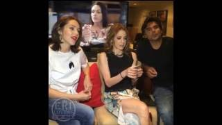 Facebook Live Erika de la Rosa, Edith Gonzalez y Jorge Luis Pila