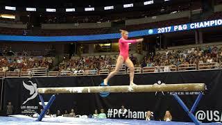 Jade Carey - Balance Beam - 2017 P&G Championships - Senior Women - Day 2