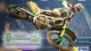 Monster Energy Supercross: The Official Video Game 2 - Announcement Trailer