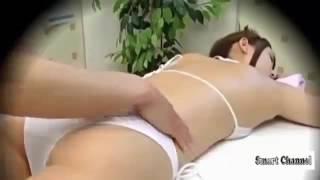 girl body massage by boy