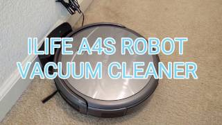 ILIFE A4S Vacuum Cleaning Robot