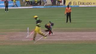 CPL 2016 Highlights - St Kitts and Nevis Patriots v Jamaica Tallawahs