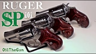 RUGER SP101 357 and 327 with Badger Grips