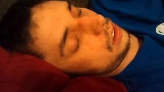 Nathan snoring