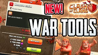 NEW WAR TOOLS Inside Clash of Clans UPDATE
