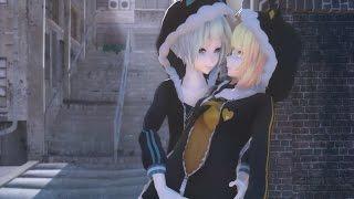 【MMD】LUVORATORRRRRY! 【Hamideruzu】- TDA Ponpoko Miku X Konkon Rin HD 1080p