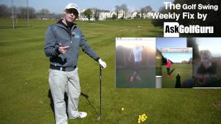 The Golf Swing Weekly Fix Across The Line and Follow Through