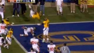 Jahvid Best Epic Concussion (Multiple Angles)