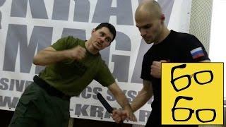 Защита против ножа в крав-мага (базовые принципы) — урок Егора Чудиновского по защите от атаки ножом