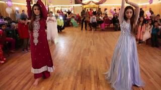 Sanaa And Fiza Dance @ Anaya's Birthday