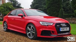 THIS is the NEW Audi RS3 Saloon!