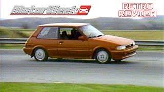 Retro Review: 1987 Toyota Corolla FX16