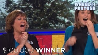 $100,000 Reasons to Celebrate!   Wheel of Fortune