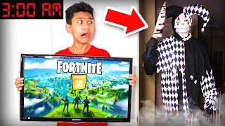 DONT Play Fortnite CHAPTER 2 at 3AM! (Scary)
