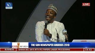 Sun Awards: Bovi Revisits Animal Kingdom, Takes On Saraki, Dino, Dankwambo