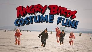 Angry Birds Costume Fun