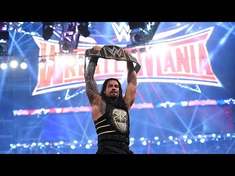 Xxx Mp4 Roman Reigns Beats Triple H For The WWE Championship WrestleMania 32 3gp Sex