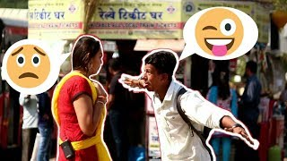 Bhojpuri Girl Picking Up Guys - Oye It's Prank | Pranks In India