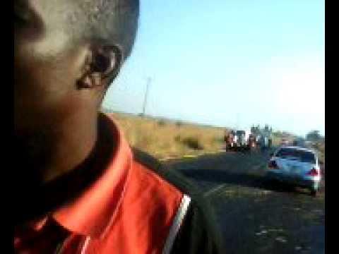 ACCIDENT AT MUNALI  HILLS - ZAMBIA