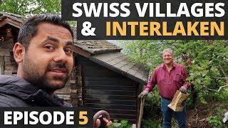 Exploring Swiss Villages of Lauterbrunnen, Gimmelwand & Mürren, Episode 5 - Switzerland in Rs 75000