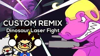 Rhythm Heaven Megamix (Custom Remix) - Dinosaur Laser Fight ~ NSP