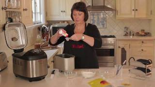 How to make French Baguettes with Tefal Breads of The World - Demo