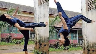 Tiger Shroff' Showing Amazing Dance Moves @ Mithibai College festival KSHITIJ 2014.