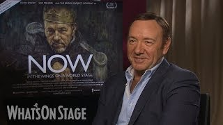Kevin Spacey discusses Richard III, Clarence Darrow and his new documentary