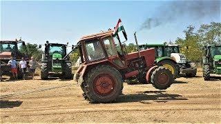 Belarus Mtz 82 traktor tractor pulling 2017